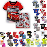 Kinder Schlafanzug Shorty Set Tom /& Jerry Anzug Nachtwäsche 98-140