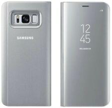 Genuine Samsung Clearview Abatible Estuche Galaxy S8 cubierta de teléfono inteligente smg950f Original