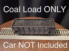 HO Scale Lot Of 2 Coal Loads For Athearn 34' 2-bay Hopper Cars