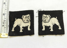 A Pair Of Original WW2 Military Eastern Command Cloth Formation Badges (4993)
