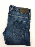 Men's Diesel Kajo Stretch Blue Button Fly Jeans | Wash 0089L | W30 L32