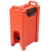 NEW 5 Gallon Red Insulated Hot Cold Catering Beverage Drink Dispenser Coffee Tea