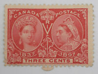 CANADA 1897 MINT #53, 3 Cents DIAMOND JUBILEE ISSUE ST96