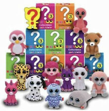 Ty Beanie Baby Mini Boos Series 3 Collectible Hand Painted Figures 4 Pack