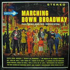 Phil Lang - Marching Down Broadway LP VG+ DL 74200 Vinyl 1962 Record