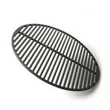 """Cast Iron Dual Side Grid Cooking Grate 18"""" for Large Big Green Egg, Kamado BBQs"""
