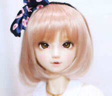 BJD Doll Wig 1/4 7-8 SD LUTS AOD DOD MSD MDD MINIFEE dollfie Orange Curly Hair