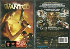 DVD - WANTED avec ANGELINA JOLIE, MORGAN FREEMAN / NEUF EMBALLE - NEW & SEALED