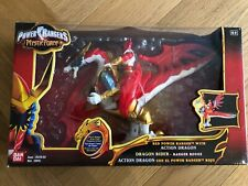 Power Rangers Mystic Force Rouge Red Dragon Action Rider Mystique NEW