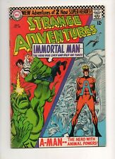 Strange Adventures #190 1ST APP ANIMAL MAN in COSTUME! Early IMMORTAL MAN Fn 6.0