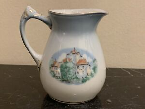 Bing & Grondahl Porcelain BIG36 Denmark Historical Building Creamer