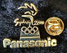 RARE PANASONIC OFFICIAL PARTNER SYDNEY OLYMPICS 2000 TORCH RELAY PIN  - BOXED