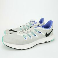 Nike Womens Quest AA7412-100 White Hyper Running Shoes Lace Up Low Top Size 11