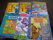 Work Activity Six Books ~Numbers, Rhyming, States, Color etc.~ Ages 5 - 8