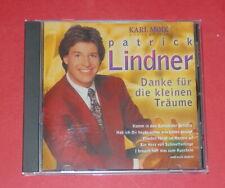 Patrick Lindner - Danke für die kleinen Träume -- CD / Schlager