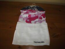 Girls Winter TRESPASS Pink Fleece/Fabric Camouflage NECK WARMER Ski ONE SIZE New