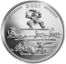 2001 Festivals of Canada Silver 50 Cent Coin Toonik Tyme SEALED