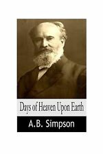 Days of Heaven Upon Earth Free Shipping