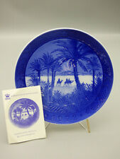 Royal Copenhagen In the Desert 1972 Limited Edition Christmas Collector Plate