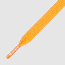 Shoelaces Flat Orange Mr Lacy Flatties, High quality laces 130 cm long,10 mm
