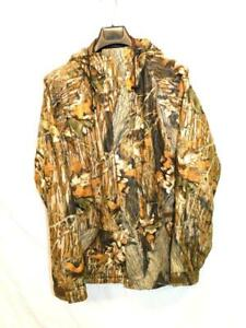 Cabela's XL Tall XLT Whitetail Quiet Hunting Jacket GoreTex Mossy Break Up Camo