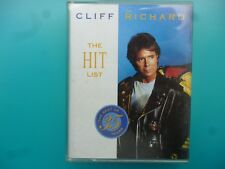 "CLIFF RICHARD  "" THE HIT LIST - THE BEST OF 35 YEARS ""  DOUBLE CASSETTE"