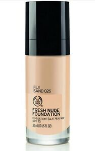 The Body Shop Fresh Nude Foundation Santorini Sunset 2ml SAMPLE ONLY
