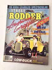 Street Rodder Magazine Rob Marchese Replica Coupe November 1984 031517NONRH