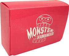 (1) BCW-MB-DD-MPI Pink Double Deck Trading Card Game Box Monster Protectors M:TG