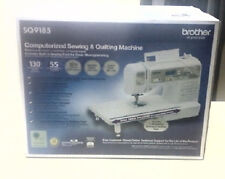 Brother SQ9185 Computerized Sewing & Quilting Machine (New In Box!!!)
