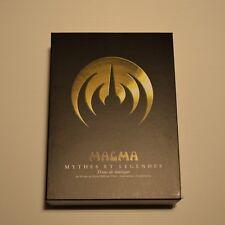 MAGMA - Mythes et légendes -JAPAN 4 DVD + CD PROMO + BOX PROMO Disk union