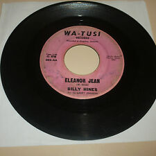 NORTHERN SOUL 45RPM RECORD - BILLY HINES - WA TUSI 002