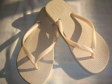 old navy flip flops brazil made pearl white size 8
