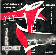 45T  EP: Sydney Bechet with Bob Scobey' Frisco Band: summertime +3 titres. vogue