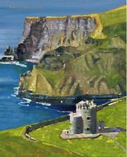 COLOR PRINT OF OIL PAINTING, IRELAND SERIES #42