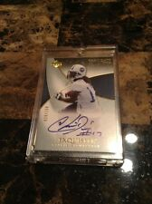 Chris Davis Titans 2007 UD Exquisite Rookie Signatures #67  29/150