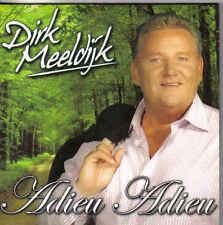 Dirk Meeldijk-Adieu Adieu cd single