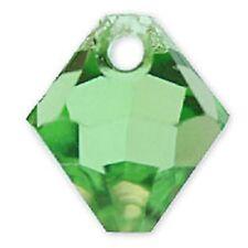 Swarovski Crystal TopDrill Bicone Peridot Color 6mm. Approx 24 PCS 6328-6301