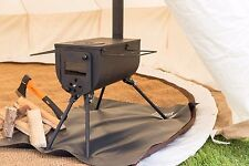 Bushcraft woodsman wood-burner stove package camping bell tent stove portable