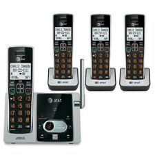 Vtech AT&T 80-9102-00 4 Handsets DECT 6.0 Cordless Phone with Answering System