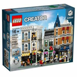 BRAND NEW SEALED LEGO CREATOR MODULAR EXPERT BUILDING 10255 ASSEMBLY SQUARE .