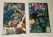 detective comics # 645, 649