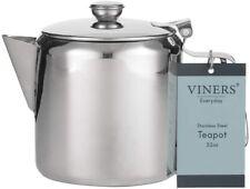 New Viners Everyday Teapot Tea pot Stainless Steel 32 oz 800ml 0302.194