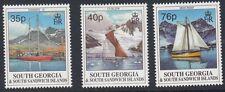 SOUTH GEORGIA : 1995 Sailing Ships set  SG  258-60 MNH