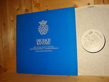 Bach Christmas Cantata BWV 110 Introduction RILLING HÄNSSLER Swiss TURICAPHON LP