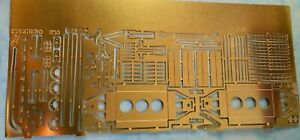 1 Gauge wagon party fret in etched brass