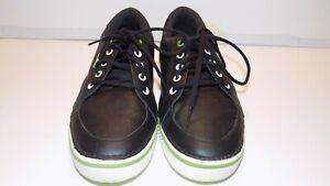 Men's Crocs Black Golf Shoes US Size 8