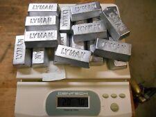 soft lead ingots box 13