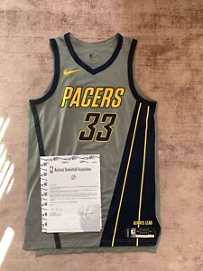 Miles Turner Game Worn Nba Jersey indiana pacers nike meigray