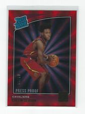 COLLIN SEXTON 2018-19 DONRUSS ROOKIE PRESS PROOF RED LASER PARALLEL CAVALIERS